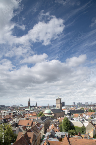 View of Copenhagen including Cathedral - 213937330