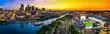 Nashville Skyline with stadium