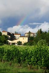arc-en-ciel à Beaulieu en Ardèche © Monique Pouzet