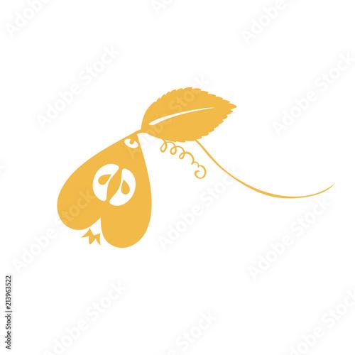 pear, love, heart, logo, sign - 213963522