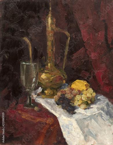 oil painting, still life © vadim_fl
