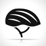 helmet icon on white background
