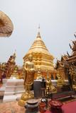 Wat Phra That Doi Suthep in chiangmai thailand