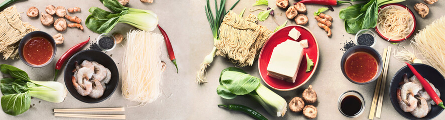 Asian food  ingredients. © bit24