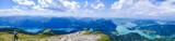Panorama Seenlandschaft Salzkammergut