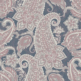 paisley seamless pattern. colorful vector textile background - 214072562
