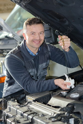 worth working man near engine