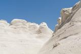 Sarakiniko beach lunar landscape in Milos, Cyclades Islands, Aegean Sea, Greece - 214112316