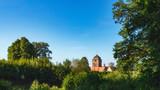 Medieval German Bavarian Town of Kronach in Summer. Lovely historical houses - 214115765