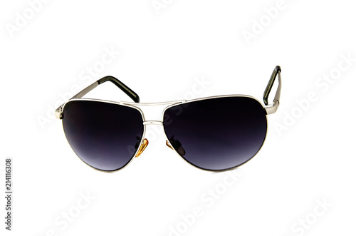 Foto Murales Glasses to protect the eyes from bright sunlight and ultraviolet.