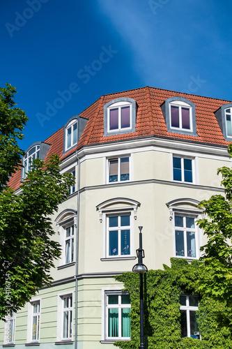 Fototapeta Gebäude in der Hansestadt Rostock