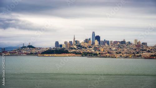 Canvas San Francisco San Francisco skyline panorama