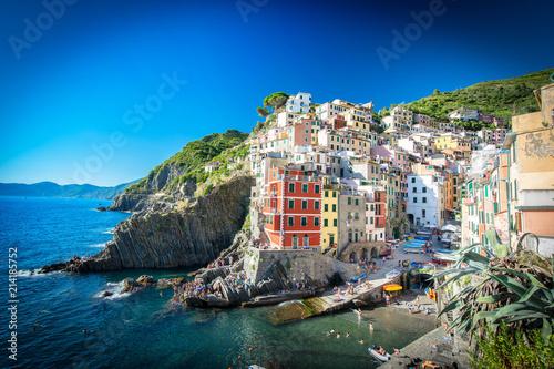 Fotobehang Liguria Riomaggiore