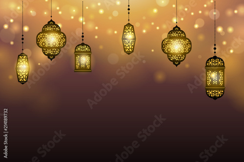 Islamic holiday background - 214189732