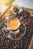 coffee and beans - 214196102