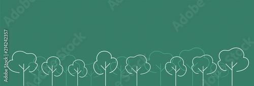 natura, alberi, albero, foresta, bosco, - 214242357