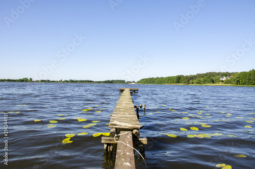 Acrylglas Pier lake