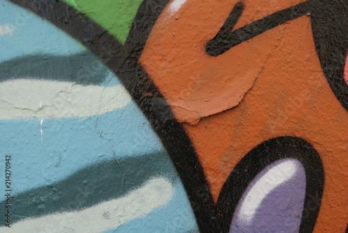 Plexiglas Graffiti texture