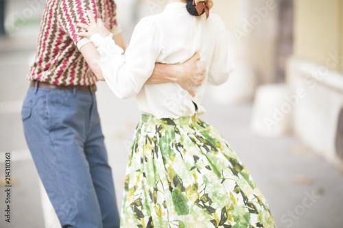 In de dag Boedapest Dance Photoshoot