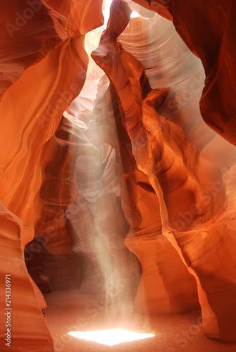 Foto Spatwand Arizona canyon of antelope