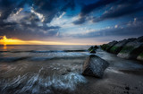 Ocean Sunset - 214338723