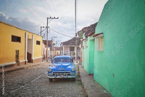 Oldtimer - Auto in Trinidad - Kuba