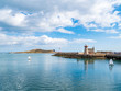Sailboats in Howth Harbor - 214353522