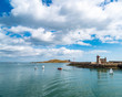 Sailboats in Howth Harbor - 214353535