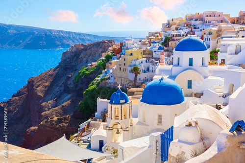 Santorini island, Greece - 214369567