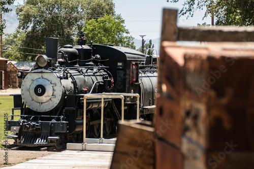 Train at Depot