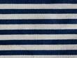 Stripes on linen textile
