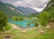 Quadro Lake of Tenno, Italy