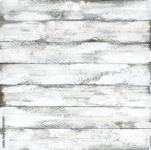Plakat Wooden background natural wood pattern Grungy rustic board