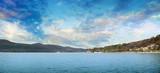 Горное озеро Абрау, Кавказ, Краснодарский край, Россия