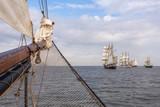 Segelschiffe beim Jade-Weser-Port-Cup