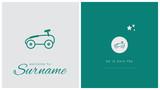 faire-part de naissance, carte pour célébrer l'arrivée d'un bébé, voiture, jouet, automobile