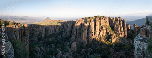 Valley of Desolation, Graaff-Reinet in South Africa - 214460379
