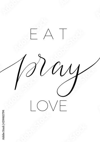 jedz-modlcie-sie-milosc-minimalistyczny-napis-plakat-wektor