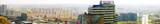 European city Bratislava with view of blocks of flats, Slovakia