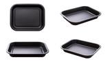 Empty baking tray isolated. - 214559152