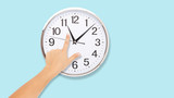 Time Punctual Second Minute Hour Concept - 214559356