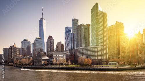 Foto Murales Lower Manhattan in New York city, USA.