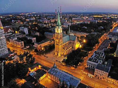 Fototapeta Łódź, Polska- Bazylika archikatedralna.