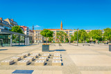 Nowy targ square in central Wroclaw, Poland