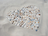 Ich liebe dich - Herz - Gefühle - Sommer - Strand