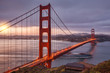 Quadro Golden Gate Bridge at Dawn