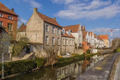 Foto Spatwand Brugge City of Bruges