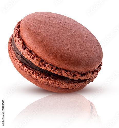 Foto Spatwand Macarons Sweet chocolate macarons