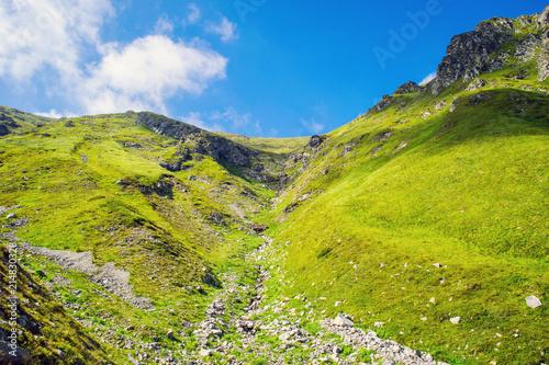 Canvas Pistache Central Balkan national park in Bulgaria, paty to Botev peak
