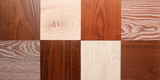 set of small samples of wooden parquet for the designer. - 214842303